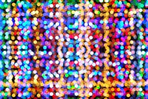 decorative image with sparkling spots (bright spots)
